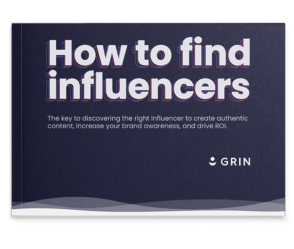 how to find influencers guidebook