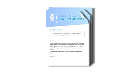influencer marketing email outreach templates download