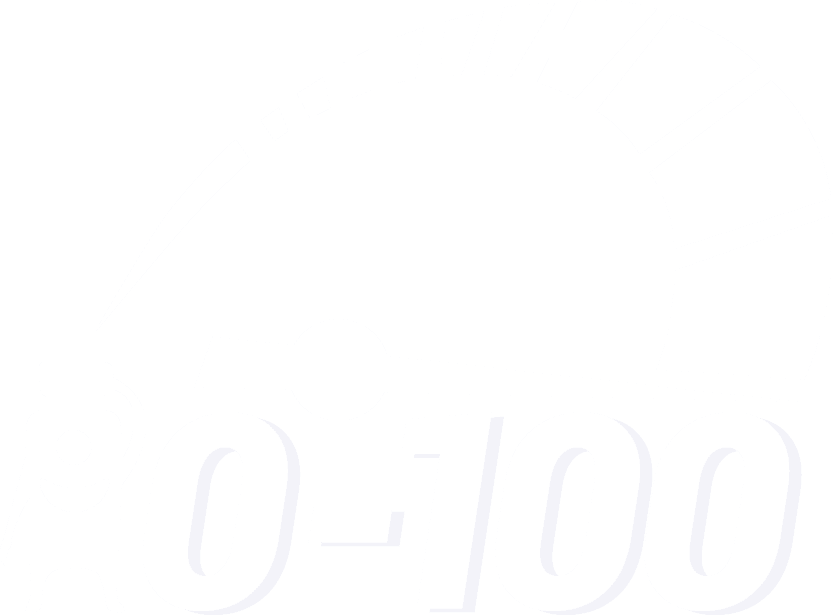 0 to 100 logo white-01
