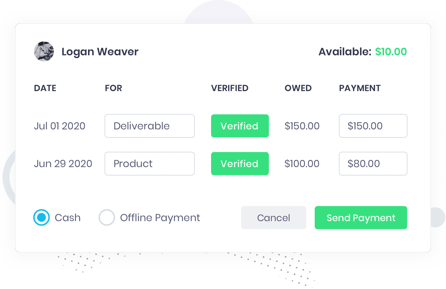 track influencer payments