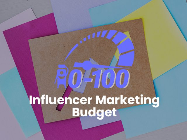 influencer marketing budget toolkit