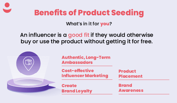 benefits of product seeding influencer gifting